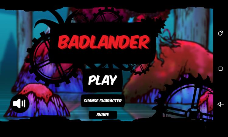 Eksklusif App Game Badlander For Android-admob Mudah di reskin