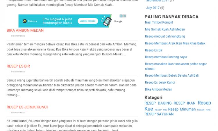 Website/blog